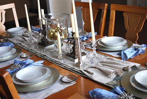 fussy monkey business dining table set up