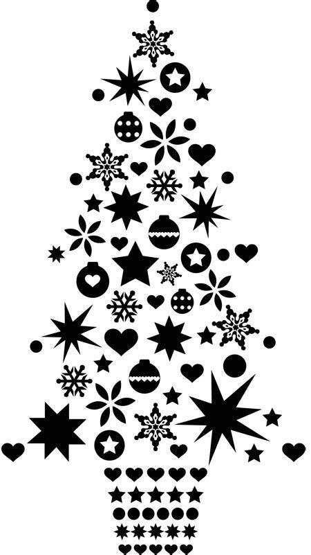 image de noel en noir et blanc maison design bahbe