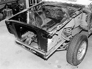 1966 Ford Mustang - Project '66 - 1965-1968 Ford Mustang Core Support Replacement Photo & Image ...
