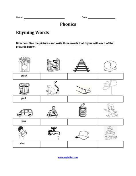 englishlinxcom phonics worksheets