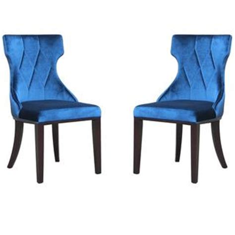 archer blue dining chair