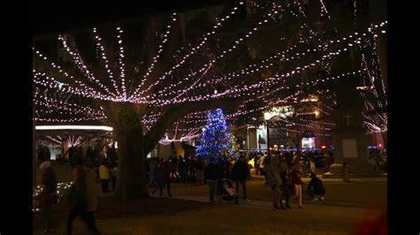 festival of lights florida nights of lights holiday lights festival st augustine fl
