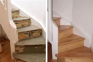 Holztreppe Abschleifen Und Neu Lackieren : holz treppenstufen neu lackieren ~ Orissabook.com Haus und Dekorationen