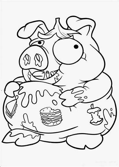 Coloring Pages Trash Pack Fun Colouring Packs
