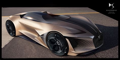 DS Asymmetrical X E-Tense Concept to Roam the Streets in ...