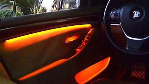 Bmw F10 Ambientebeleuchtung : ambient lighting upgrade for bmw f10 youtube ~ Kayakingforconservation.com Haus und Dekorationen