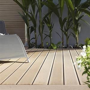 Lames Terrasse Leroy Merlin : lame de terrasse composite clipsable leroy merlin jardin ~ Melissatoandfro.com Idées de Décoration