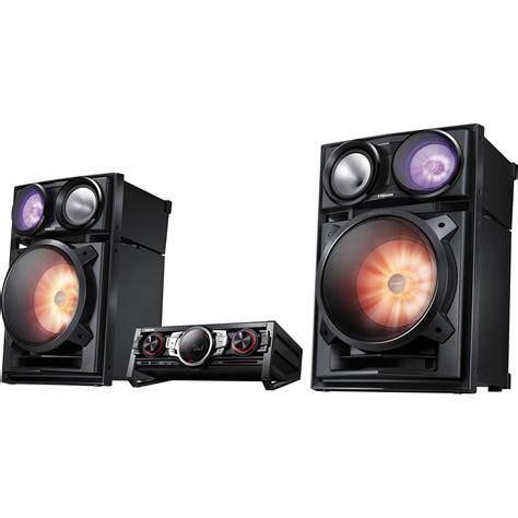 Tabletop Radio Cd Player by Samsung Mx Fs9000 Giga Sound Component Audio System Mx