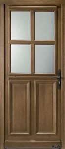 porte vitree 4 carreaux sur mesure porte d39entree portes With porte d entrée vitrée bois