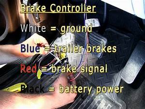 Trailer Brake Controller Installation - 2007 Gmc Sierra - Youtube