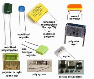 table of different types of capacitors - 28 images ...