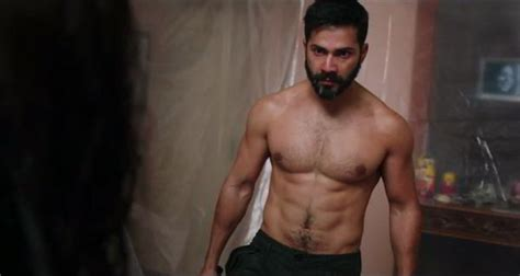 varun dhawan shows   pack abs  badlapur teaser