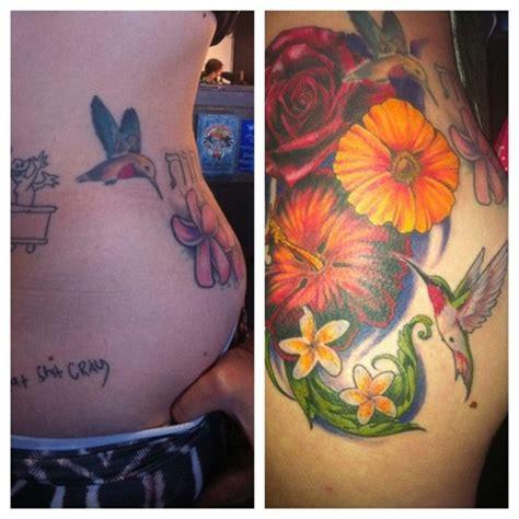 hummingbird cover up tattoo 7 celebrity hummingbird tattoos steal her style
