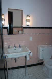 Vintage Bathroom Tile Ideas Vintage Pink Bathroom Tile