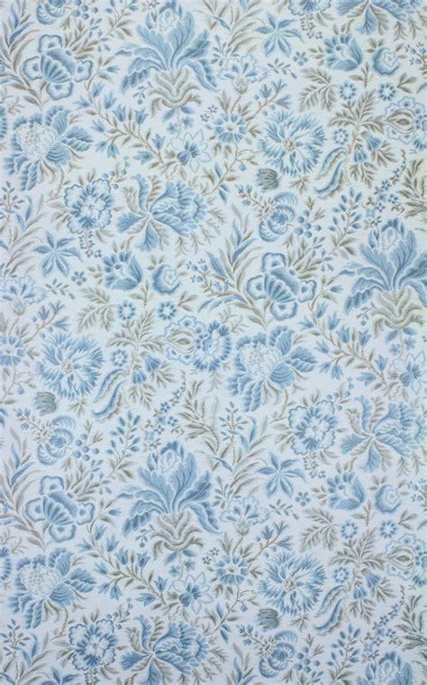 vintage blue floral wallpaper vintage wallpapers