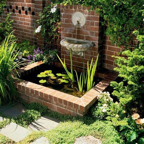 bulleur pour bassin exterieur decoration petit jardin exterieur 5 fontaine pour bassin un petit bassin en briques dans le