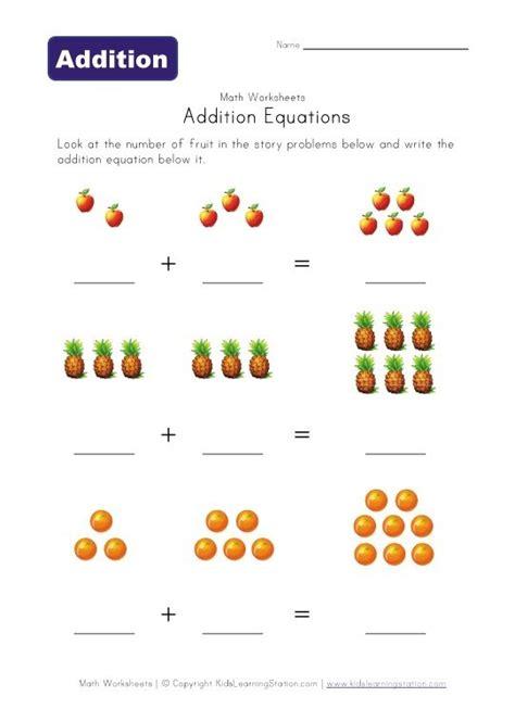 addition preschool worksheets stuffs for my kids or
