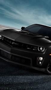 Chevrolet Camaro ZL1 black auto iPhone X 8,7,6,5,4,3GS