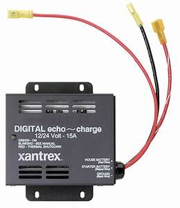 Xantrex Echo Charge Auxiliary Battery Charger  U2013 Ac Dc