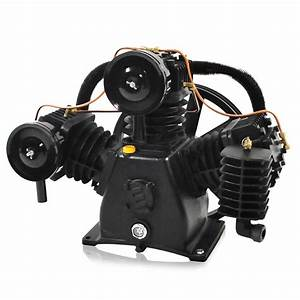 7 5 Hp Air Compressor Pump  3 Cylinder  2 Stage