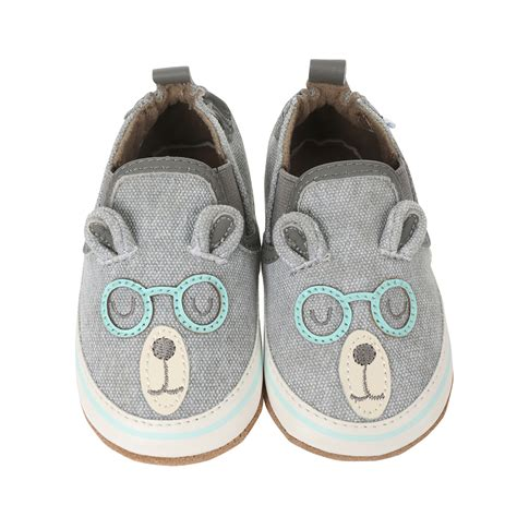 baby shoe brainy baby shoes grey robeez