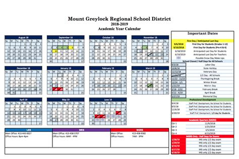 williamstown lanesborough public schools calendar