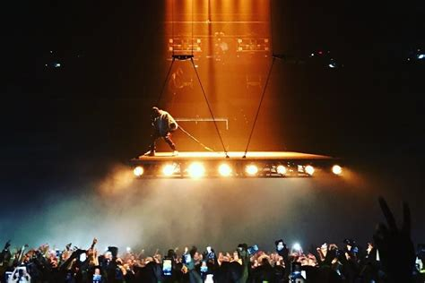 Watch Footage Of Kanye Wests Incredible New Stage Show