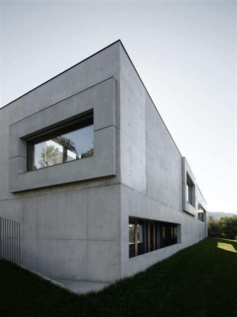 Moderne Häuser Innenausstattung by Haus Der H 246 Fe By Marte Marte Concrete Architecture
