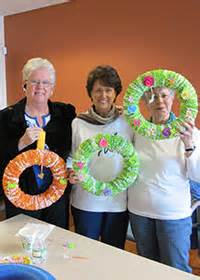 crafts and cookies for seniors thanksgiving craft