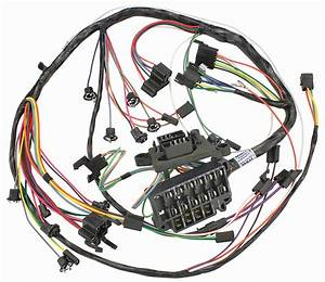 M U0026h 1965 Chevelle Dash  Instrument Panel Harness All W