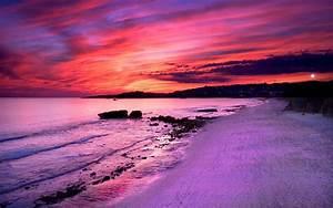 Purple Sunset Wallpapers Wallpaper | wallpapers ...