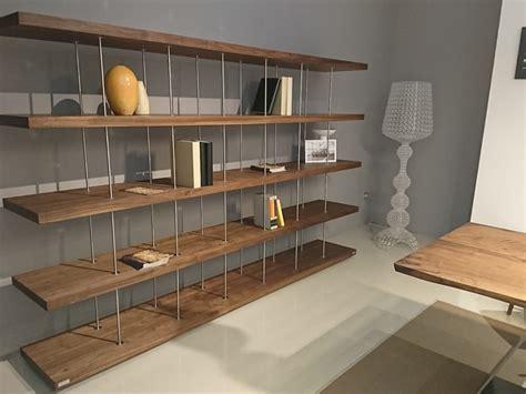 Libreria Design Outlet by Libreria In Stile Design Riva 1920 In Legno Offerta Outlet