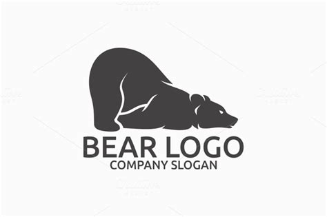 Bear Logo By @graphicsauthor