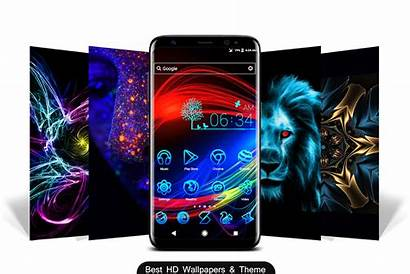 Themes Neon Wallpapers Google Apps Play Theme