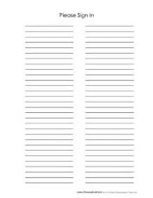 Event Sign In Sheet Template Tim De Vall Printables For
