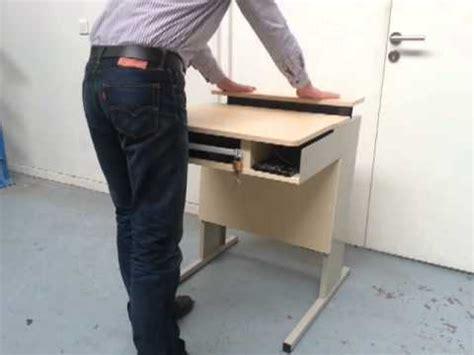 mobilier de bureau limoges bureau informatique escamotable milena