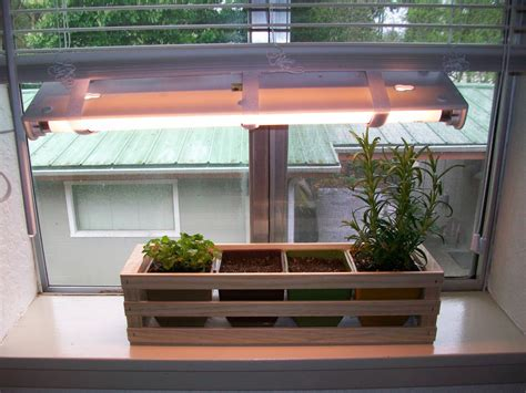 Window Spice Garden by Simple Indoor Herb Garden With Adjustable Grow Light 5