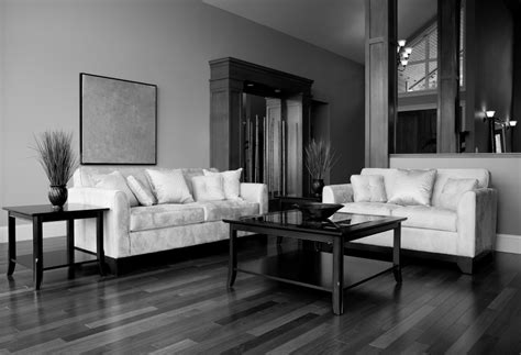 Black And White Living Room Set : Black White And Silver Living Room Ideas Living Room