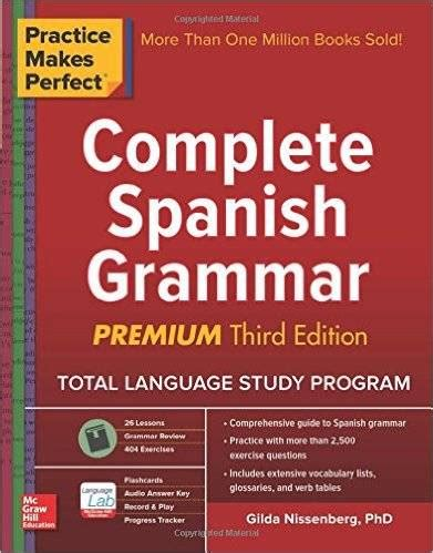 Practice Makes Perfect Complete Spanish Grammar Avaxhome