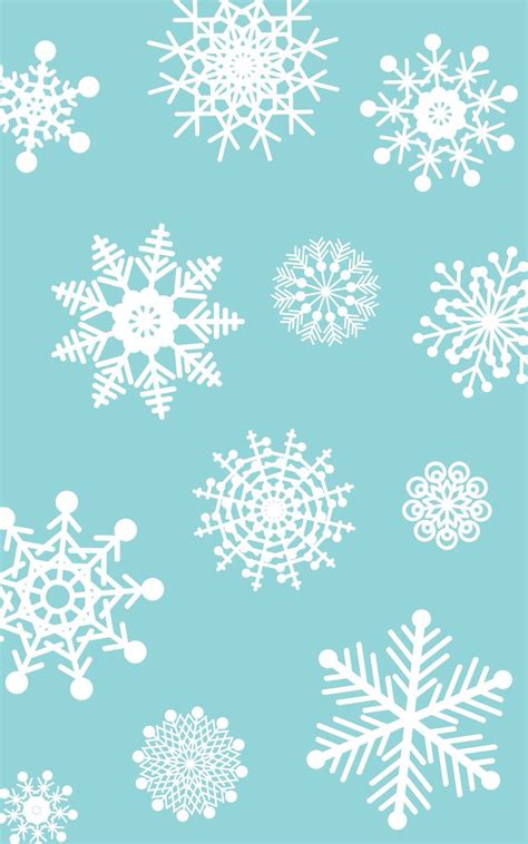snowflake iphone wallpaper snowflake iphone wallpaper backgrounds pinterest Snowf