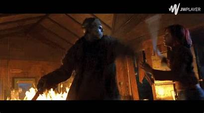 Jason Voorhees Friday 13th Respect Flying Woman