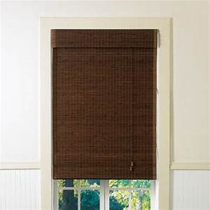 lewis hyman 2000814 35 inch by 72 inch cyprus cocoa woven With 44 inch roman shades