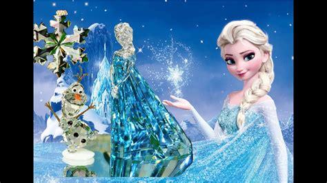 Disney Swarovski Crystals Queen Elsa Olaf