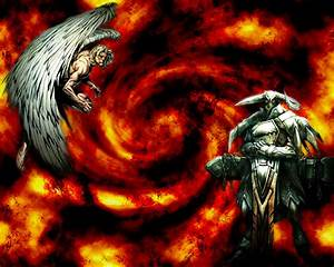 Ange Et Demon : ange vs demon by zaec on deviantart ~ Medecine-chirurgie-esthetiques.com Avis de Voitures