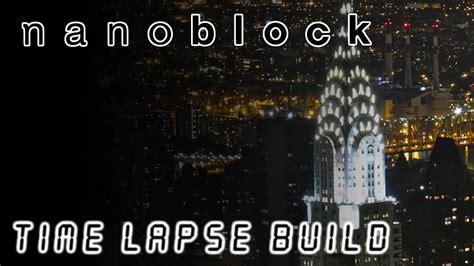 Nanoblock - Chrysler Building   Time Lapse Build - YouTube
