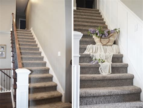 molding and trim staircase makeover how to install molding remington avenue