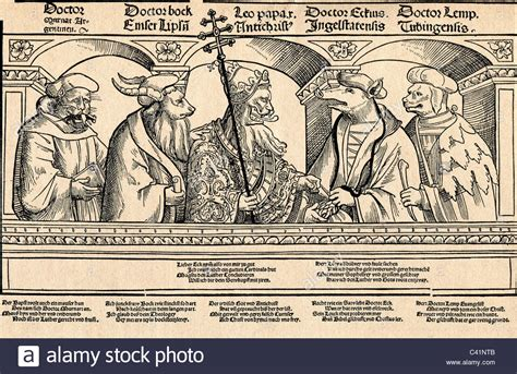 Events, Protestant Reformation, 1517  1555, Caricature On