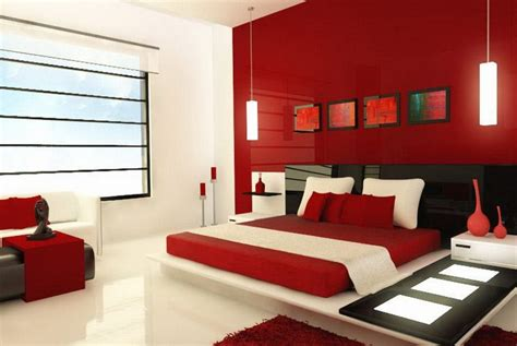Red And White Master Bedroom Color Ideas Decolovernet