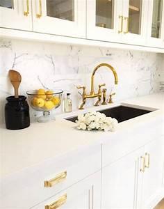 Black Kitchen Cabinets Gold Hardware Design Ideas