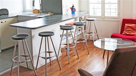 ilot cuisine avec table meuble bar pour cuisine ouverte nos conseils côté maison